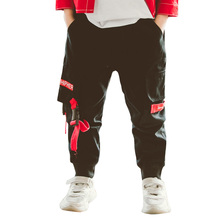 Pants For Boy Letter Print Pants Boy Full Length Childrens Cargo Pants Winter Fashion Teenage Boys Clothing 6 8 10 12 14 Year
