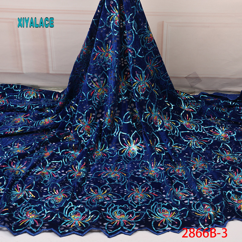 African Lace Fabric Switzerland Lace 2019 High Quality Lace Fabric Nigerian Lace Fabrics French Bridal Lace For Dress YA2866B-3