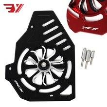 Motorfiets Voor Honda Pcx 150 125 SH125 LEAD125 18  19 Accessoires Bewerkt Aluminium Ventilator Draaien Cover Radiator guard Wind Cover