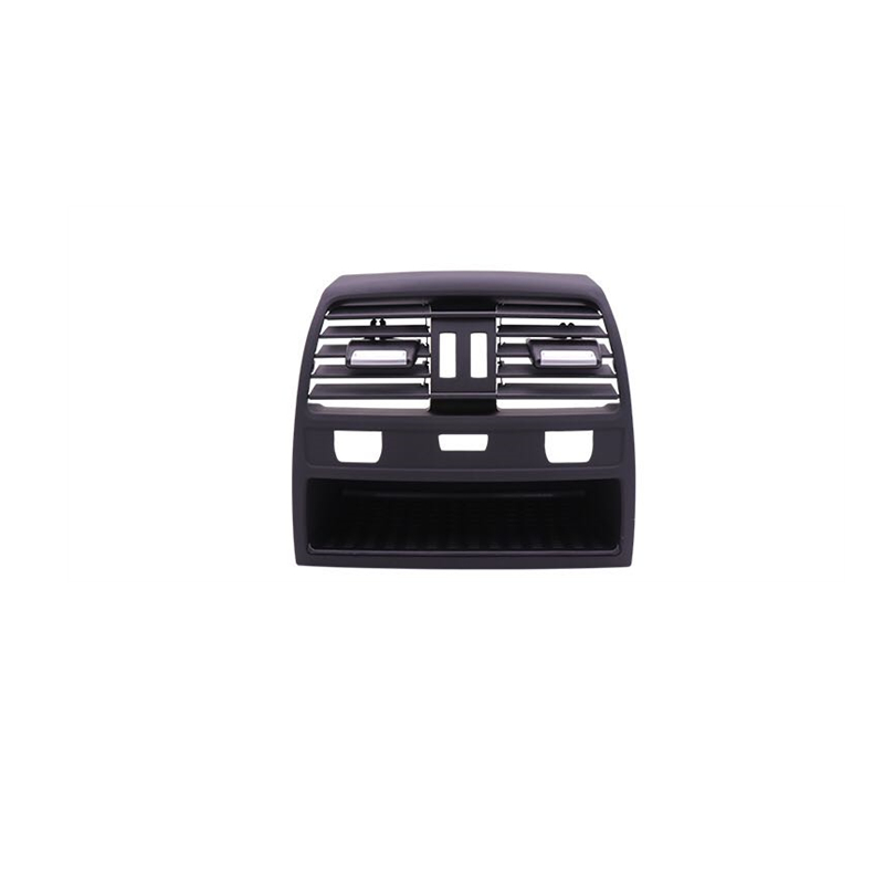 1  Rear Black Center Console Air Outlet Vent Grille Cover For Mercedes W212