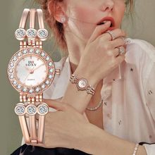 Fashion Women\'s Watch Bracelet Watch Quartz OL Ladies Alloy Wrist Watches