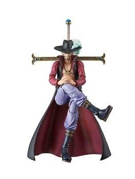Megahouse Original de una pieza Dracule Mihawk acción Variable héroe PVC figura de acción Modelo figura muñecas figura