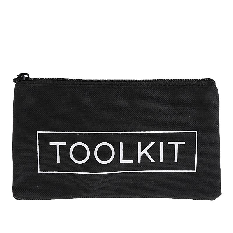 19x11cm Waterproof 600D Oxford Cloth Tool Bag Zipper Storage Instrument Case Drop Ship Support