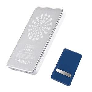Image 2 - 15W dla iPhone 12 Mini Max Magsafe Qi bezprzewodowa ładowarka 5000mAh Power Bank dla iPhone 12 11 Pro wspornik zapasowy przenośny Powerbank