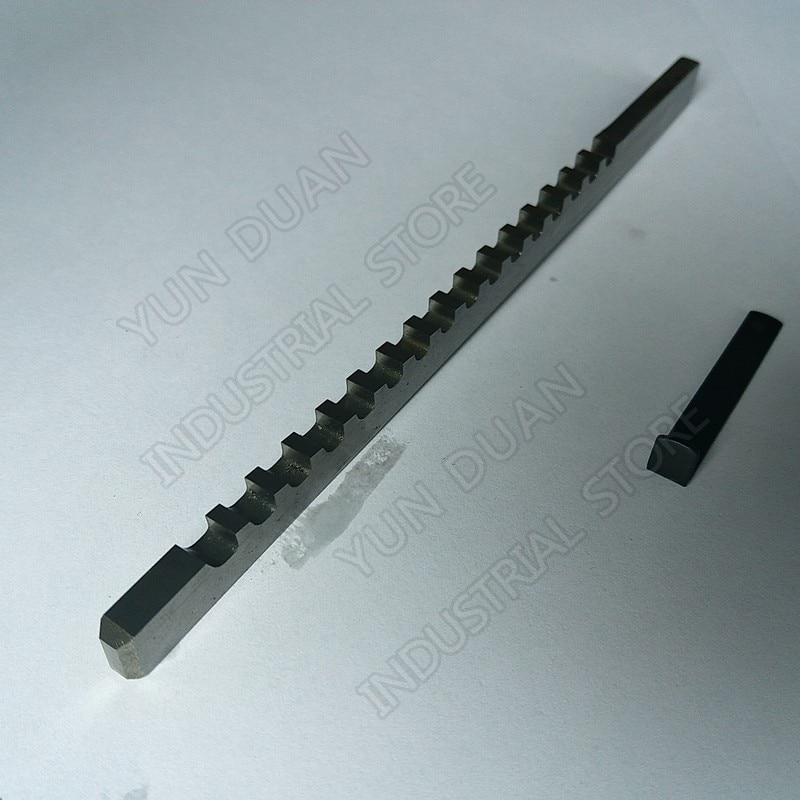 Keyway broach 316 polegadas c push tipo