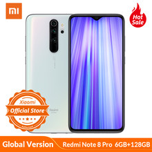 Global Version Xiaomi Redmi Note 8 Pro 6GB 128GB Mobile Phone 64MP Quad Camera MTK Heilo G90T Octa Core Smartphone 4500mAh NFC(China)