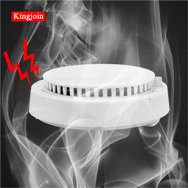 High Sensitive Stable Independent Alarm Smoke Detector Home Security Wireless Alarm Smoke Detector Sensor Fire Equipment