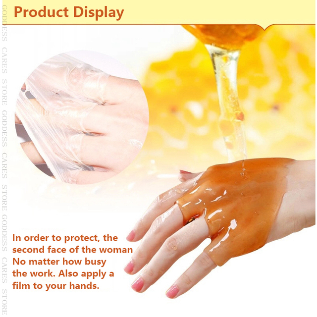 Peeling Hand Feet Mask Wax Honey Essence Paraffin Bath Sodium Hyaluronate Moisturizing Spa Exfoliating Hands Foot Care Cream P 2