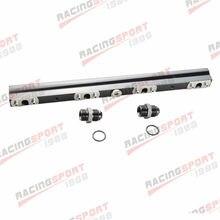 Carril de combustible de alto flujo de aluminio para n-issan 200SX S14 S15 SR20DET azul/rojo/negro
