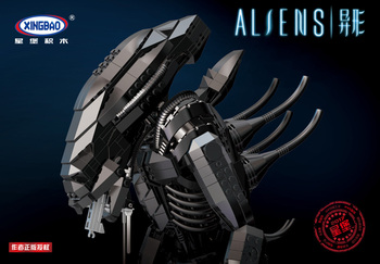 XingBao 04001 lepining Creative Movie Series The Alien Robot Set Educational Building Blocks Bricks Toys for children Model kit