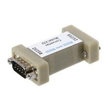 1 adet portlu RS232 To RS232 seri Port optik elektrik izolatör korumak RS232