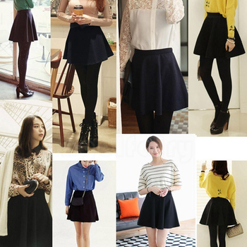 New New Women Skirt Sexy Mini Short Skirt Fall Skirts Womens Stretch High Waist Pleated Tutu Skirt SCI88 6