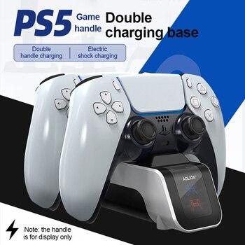 Per PS5 Base di ricarica rapida per Gamepad per Controller  1
