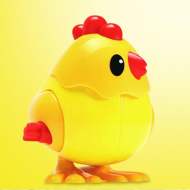 Children Jumping Chicken Toy Run Will Baby Jumping Chicken Jump On The Chicken Small Animal Winding Chain Will Move