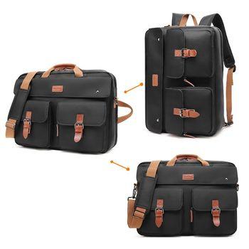 Handbag Business Briefcase Rucksack Convertible Backpack Laptop Bag Shoulder Messenger Case coolbell 17 17 3 inch laptop backpack convertible backpack shoulder bag messenger bag laptop case business briefcase handbag