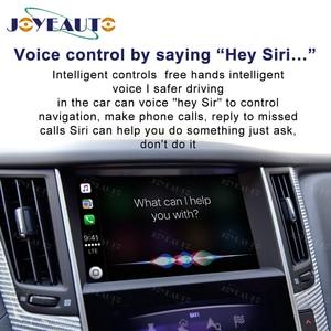 Image 5 - Jogo airplay do carro de wifi do espelho do carro do andróide q60 q50l qx50 para a tela 2015 2019 de 8 polegadas de infiniti