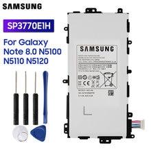Bateria original sp3770e1h da substituição de samsung para samsung galaxy note 8.0 n5120 n5100 n5110 bateria autêntica da tabuleta 4600mah