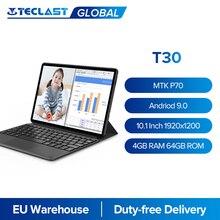 Teclast T30 10.1 Cal Tablet 1920x1200 4G połączenie i sieć MTK P70 Octa Core A73 4GB RAM 64GB ROM klawiatura dokująca 8000mAh type-c