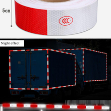 Sticker Adhesive-Tape Truck Caution Bicycle Car-Styling Safety Reflective Warning 3M