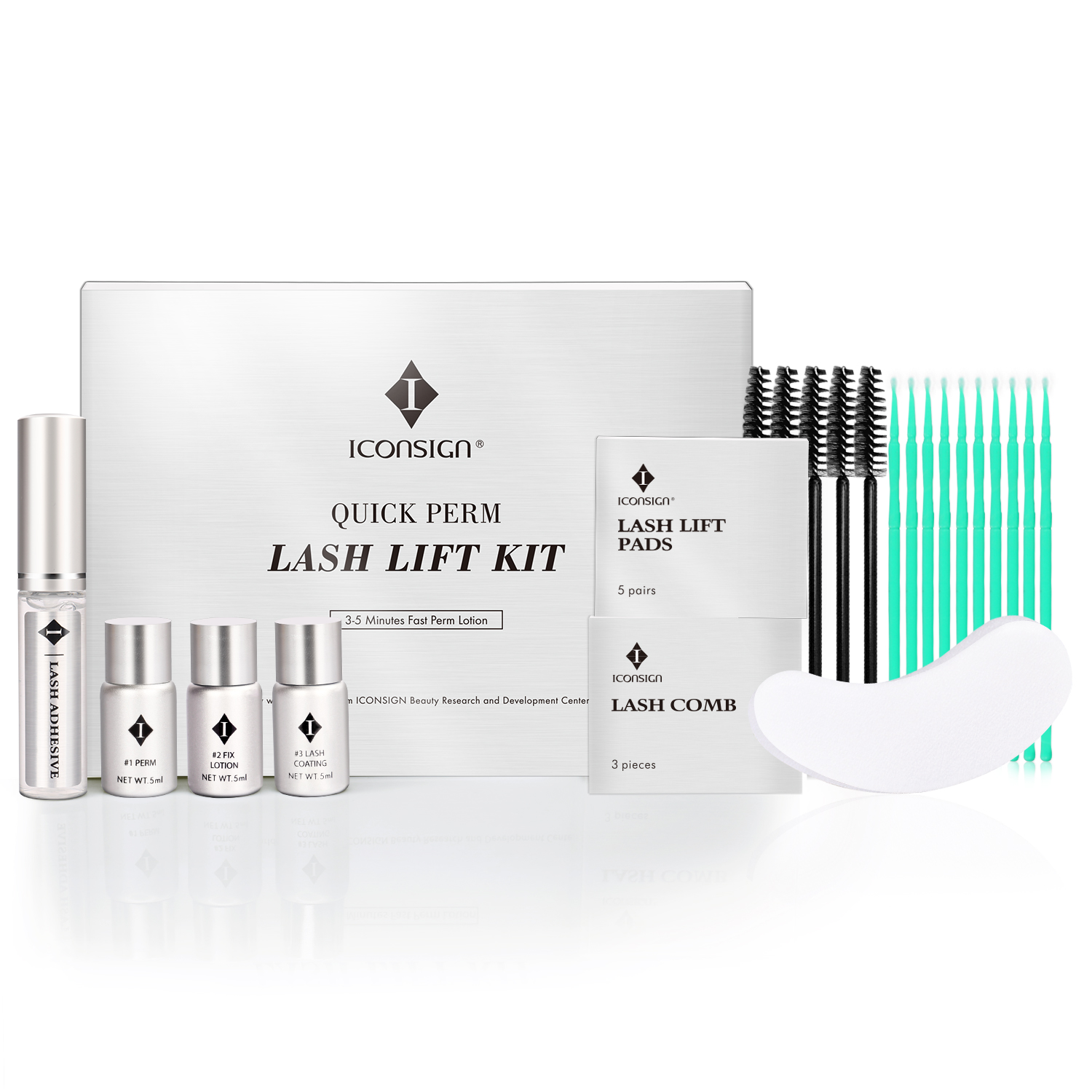 Quick Perm Lash Lift Kit Eyelash Perming Set Fast Perm Lotion Lashes Growth Serum Growth Treatment Tool