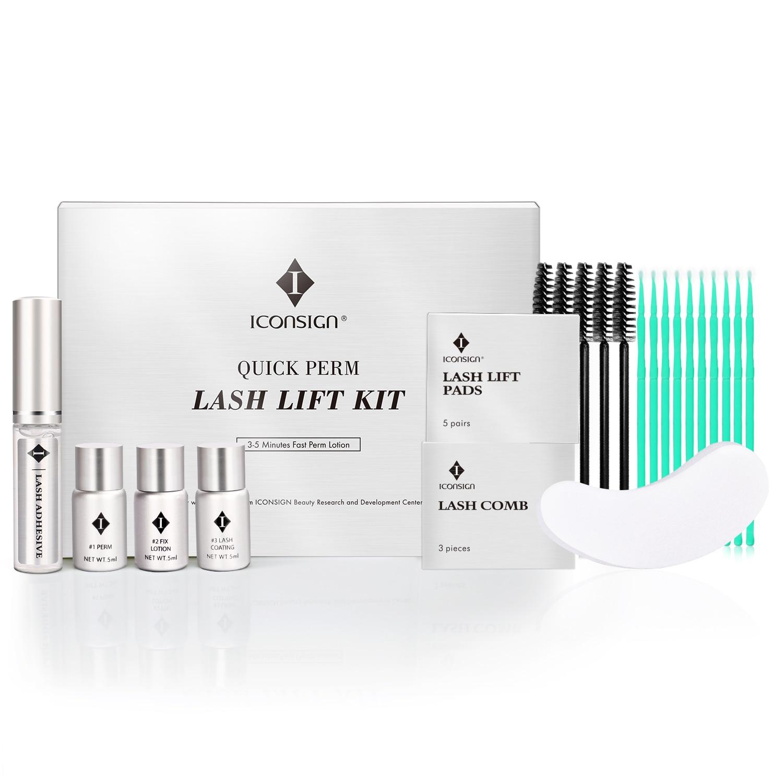 Schnelle Dauerwelle Lash Lift Kit Wimper Perming Set Schnelle Dauerwelle Lotion Wimpern Wachstum Serum Wachstum Behandlung Werkzeug