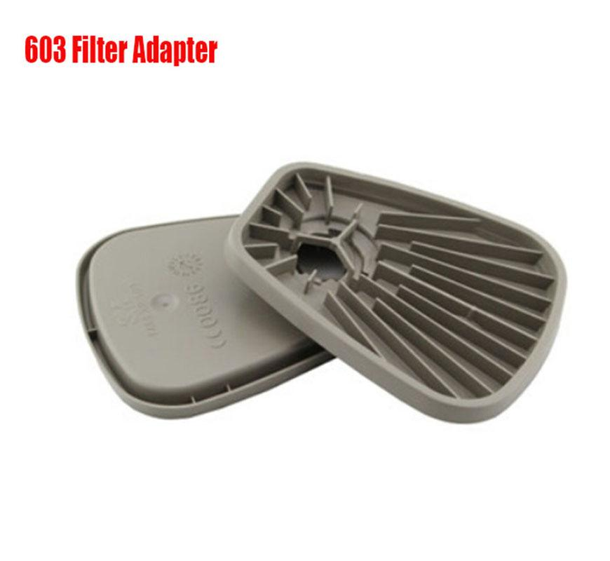 Gas mask 603 filter adapter Platform For <font><b>3M</b></font> <font><b>6000</b></font> 7000 Series Industry Gas Mask Safety Respirator image