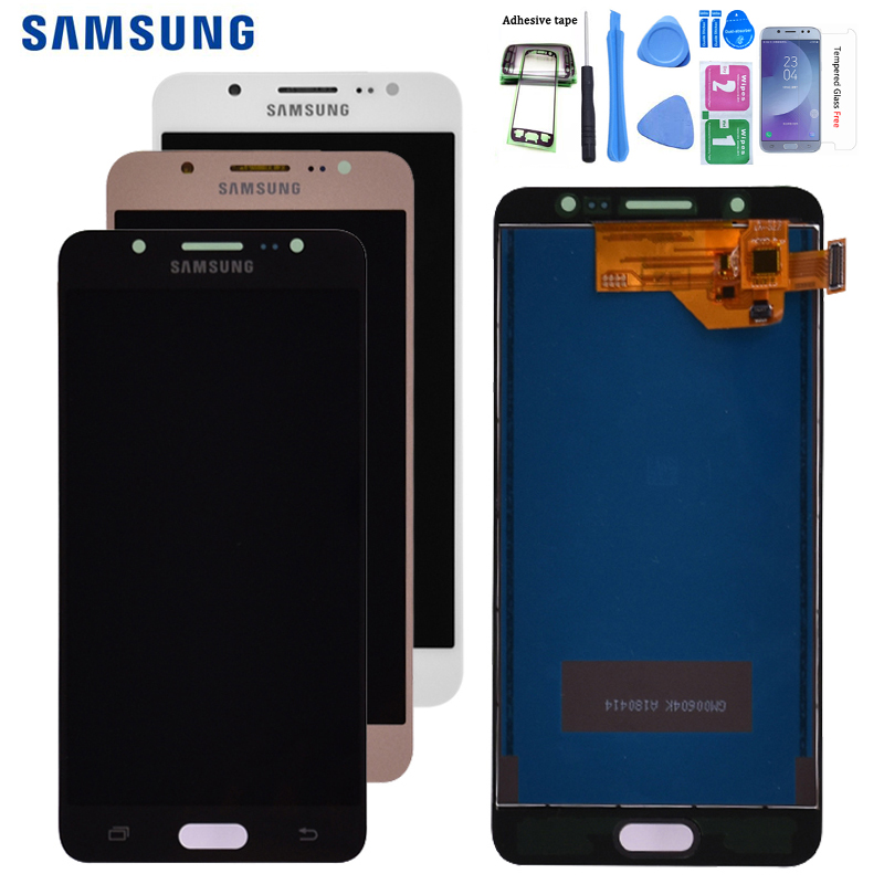 For Samsung Galaxy J5 2016 J510 J510FN J510F J510G J510Y J510M LCD Display With Touch Screen Digitizer Assembly Free Shipping