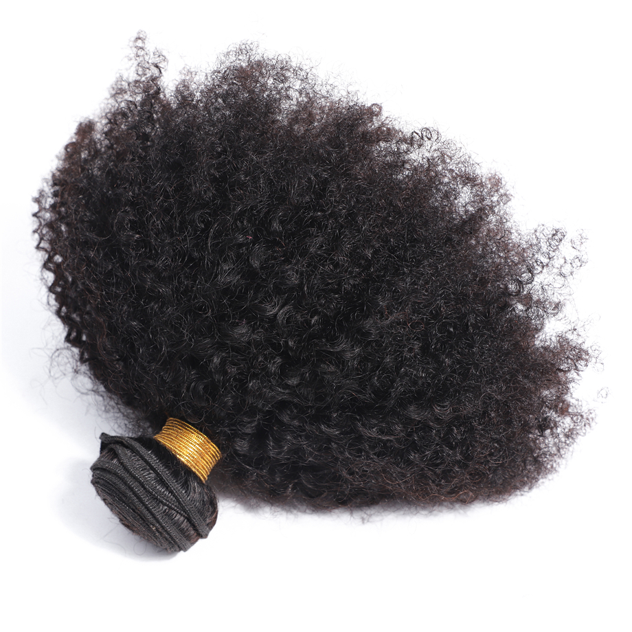 Afro Kinky Curly   4B 4C 100% Natural  Bundles Cullinan Hair 1-3pcs Double Weft Deal  Hair  3
