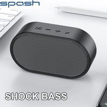 Spash portátil bluetooth alto-falante sem fio subwoofer caixa de som caixa de música estéreo bluetooth-alto-falante
