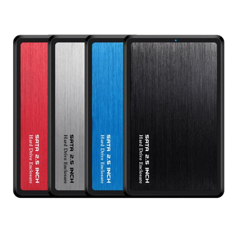 VKTECH Aluminum Alloy 2.5 Inch HDD Case USB 3.0 To SATA Adapter External Hard Drive Enclosure For SSD Disk Case Mobile HDD Box