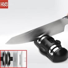 Youpin Huohou aiguiseur de couteau 2 étapes Double aiguiseur de roue aiguiseur de pierre à aiguiser outil pour couteau de cuisine