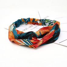 Chiffon Silk Headband Accessories Bohemian