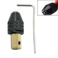 Multi funcional Micro Broca Elétrica Chuck Auto Apertado Pequeno Furadeira Elétrica Mão Clipe Broca Madeira Latão Clipe Diamante colle|Ferragens do portão da garagem| |  -
