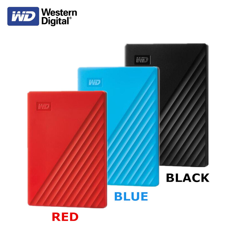 Big Capacity!!! 5TB Western Digital WD My Passport External Hard Drive USB 3.0 Password Protection HDD Portable Mobile Hard Disk
