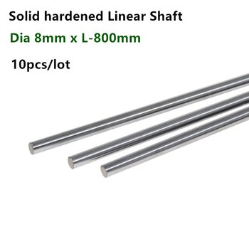 4pcs 12x800mm linear shaft 3d printer Cylinder Liner Rail Linear Shaft axis cnc parts