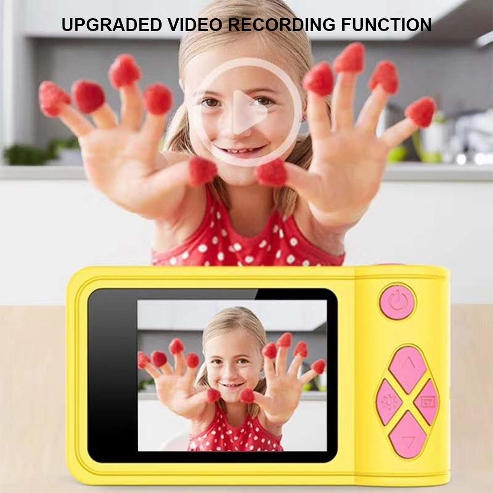High Quality Children's Camera Mini 2.0 Inch HD 1080P Digital Camera Timed Shooting Auto Focus Birthday Gifts Toys For Children