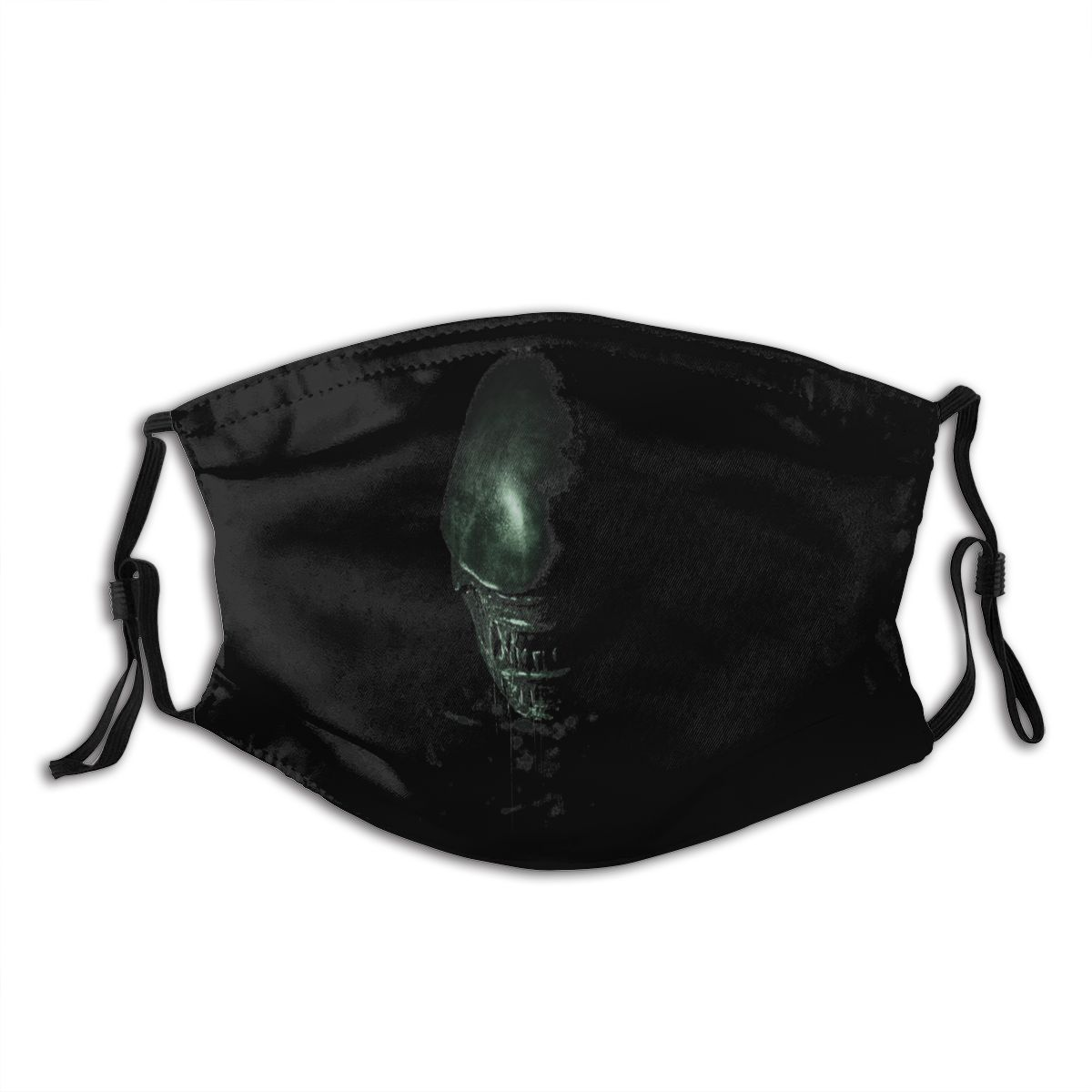 Alien Mouth Face Mask Alien Covenant Facial Mask Funny Fashion with 2 Filters for Adult