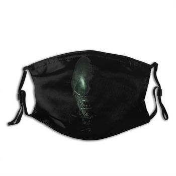 Alien Mouth Face Mask Alien Covenant Facial Mask Funny Fashion with 2 Filters for Adult the mask jim carrey movie film toys figure green alien mask