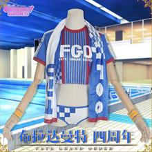 Hot Game Fate/Grand Order Bradamante Cosplay Costume the Fourth Anniversary Suits jungstedt m the fourth victim