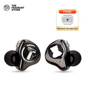 Image 1 - TFZ MONICA Hifi  In Ear Earphones Moving Circle Headset Metal Stereo Headphone Detachable Design  for T2 S2