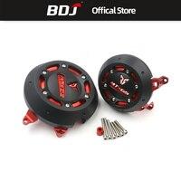 BDJ For Yamaha MT 09 FZ09 2013 2016 Side Anti Fall Block Cover Engine