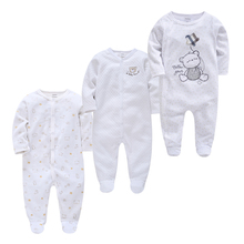 Newborn Sleepers Pijamas Bebe Baby-Girl Cotton Boy Roupas Fille De Soft Breathable 3pcs