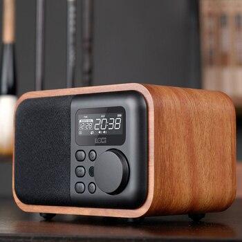 Altavoz Bluetooth, Radio FM, Control Remoto Portátil, Mini altavoz Retro de graves...