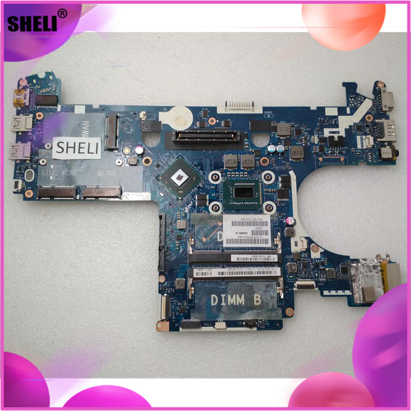 SHELI CN-05CDR9 05CDR9 5CDR9 For DELL E6230 Motherboard with <font><b>I5</b></font>-<font><b>3320M</b></font> LA-7731P image