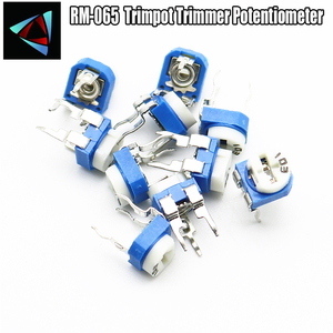 20pcs RM065 RM-065 100 500 1K 2K 10K 20K 100K 200K 1M 2M 3K 300K 3K 47K 220 ohm Trimpot Trimmer Potentiometer variable resistor