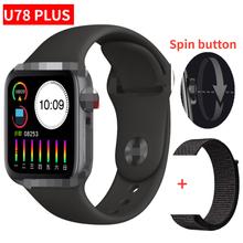 2020 najnowszy iwo U78 Plus inteligentny zegarek kobiety mężczyźni seria 5 tryb multi-sport połączenie Bluetooth inteligentny zegarek z funkcją pomiaru rytmu serca PK FT50 IWO W26 tanie tanio SARMIY Brak Na nadgarstku Wszystko kompatybilny 128 MB Passometer Fitness tracker Uśpienia tracker Nastrój tracker