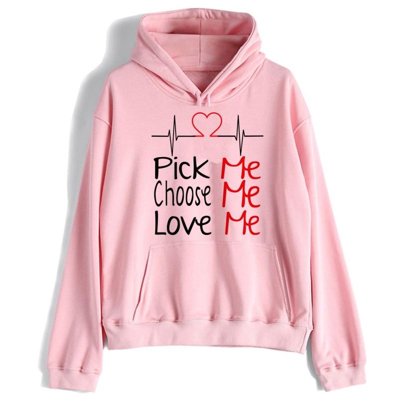 Greys Anatomy Women Hoodie You're My Person 90s Tumblr Polyester Sweatshirt Female Hooded Pullover Long Sleeve Cartoon
