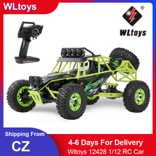 4WD Electric Car-Toys Brushed Off-Road-Car Remote-Control Racing-Crawler RC 1/12 High-Speed