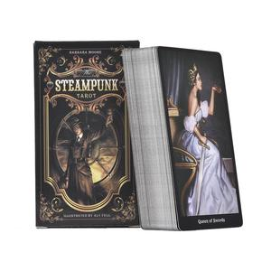 78PCS Tarot Cards The Steampunk Tarot Table Deck Board Game Card For Family Gathering Party Playing Card Games Tarot Loves(China)