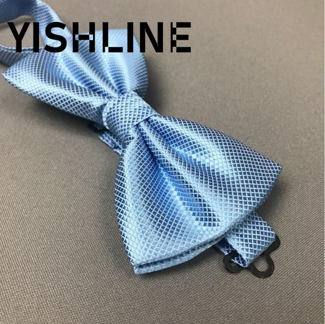 luxury Bright Silk Bow Ties 2 pcs Set 4